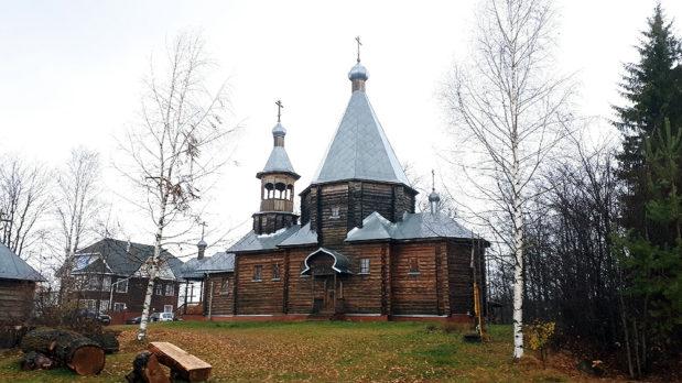 В храме в честь святых князей Бориса и Глеба села Никульчино состоялось богослужение древнерусским чином