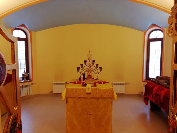 Божественная литургия в престольный праздник